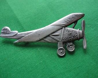 Vintage Spirit of St Louis Airplane Pin