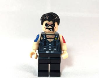 The Comedian The WATCHMEN Custom Minifigure 100% Lego Compatible! Alan Moore DC Comics Character