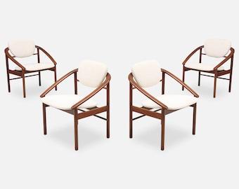 John Keal Dining Chairs For Brown Saltman