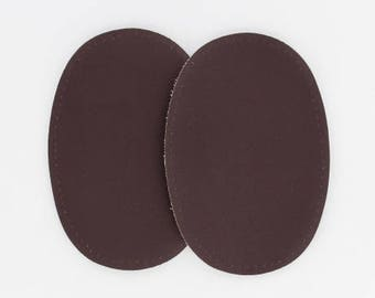 Vinyl Brown elbow patches