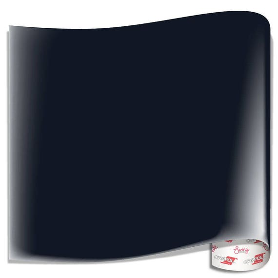 Oracal 751 Glossy Vinyl Black Blue From