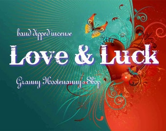 LOVE & LUCK INCENSE 10 Stick Pack