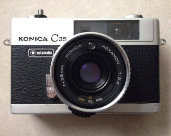 Konica C35 - film tested