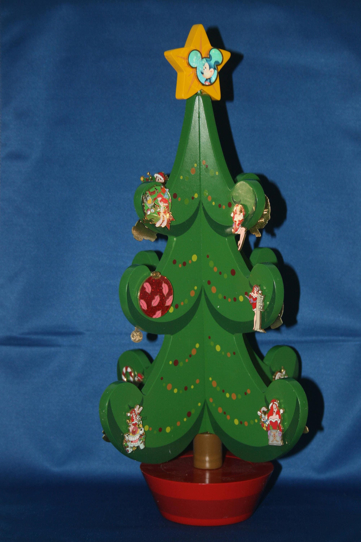 Walt Disney Christmas Music Box Advent Pin Tree Includes ...