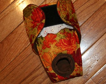Female dog diaper, Panties, dog Britches, nappies.  Washable Heat cycle,incontinence - Bright Autumn  - by angelpuppi