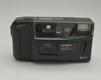 Yashica T3 Point and Shoot Camera with case