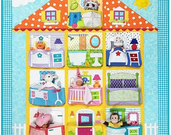 DOLL HOUSE Quilt Pattern by Amy Bradley Designs ABD 278