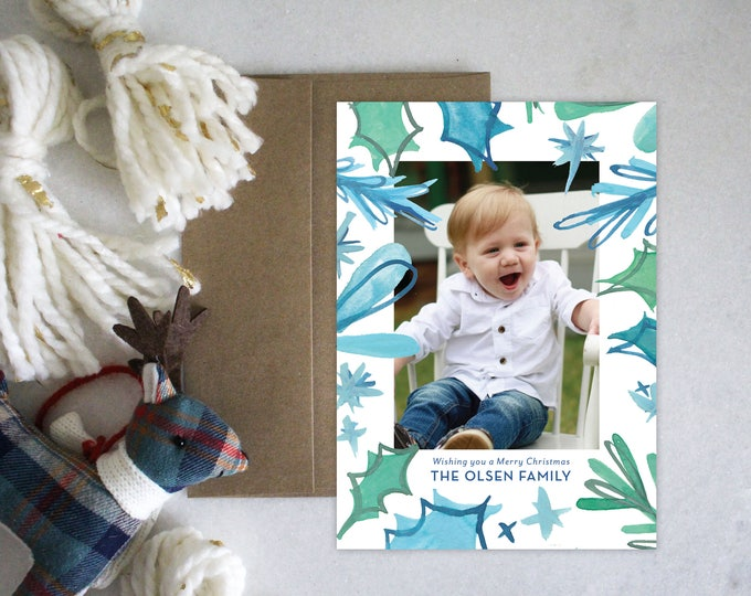 PRINTABLE Holiday Cards | Fun Ferns