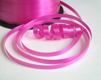 10 meters of Bolduc for wrapping gifts and Decoration 5 mm fuchsia