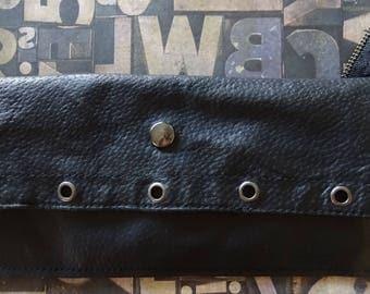 Zipper Handle Wallet