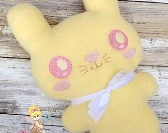 Bunny Plushie - Rabbit - Stuffie - Soft Toddler Toy - Stuffed Toy - Plush Bunny - Kawaii_- Bedtime - stuffie