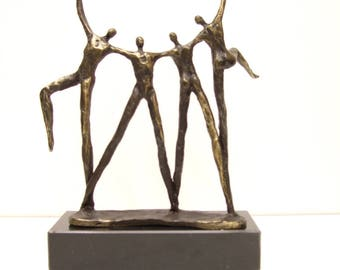 .sculpture bronze height 20 cm