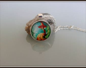Woodland fairy necklace,