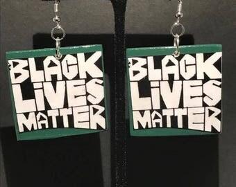Black Lives Matter earrings!