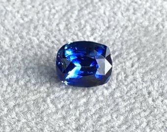 Natural Sapphire 1.96ct Cushion STUNNER!