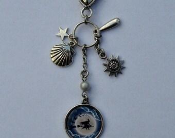 door keys or jewelry bag witch