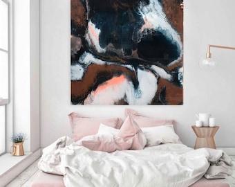 Kraken 80x80 Original Abstract Resin Art