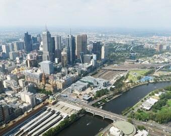 Melbourne City, Fine Art Photography Print, Multiple Sizes, Cityscape Photography