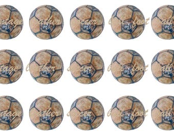 INSTANT DOWNLOAD Soccer Ball Bottle Cap Image Sheets *Digital Image* 4x6 Sheet With 15 Images