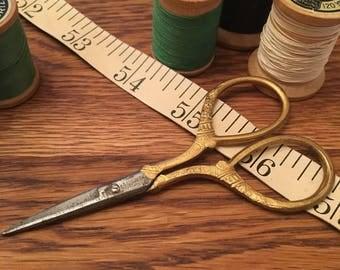 Vintage sewing scissors