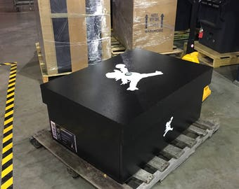 Giant Air Jordan Oregon O Ducks logo Shoe Box Storage