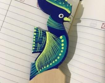 Alebrije Bookmark~ handmade ~ painted ~ book dividers painted
