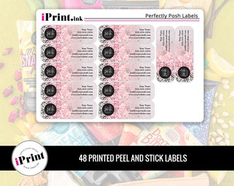 Perfectly Posh Labels, Perfectly Posh Printed Labels, Perfectly Posh Address Labels, Perfectly Posh Labels - PP-RAL002