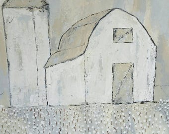 Simple Living Giclee canvas by Shannon Leigh Art