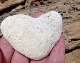 Heart Shape Stone Heart Beach Stone Strange Shape Collectible Sea Stone Rare Sea Stone Rare Beach Find Unusual Rare Sea Stone Romantic Gift