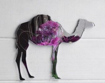 1 Hump Dromedary Camel Acrylic Mirror