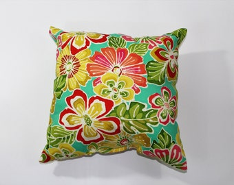 Cotton Flower Pillow