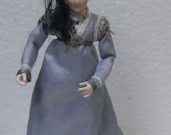 Jill Bennett, dollshouse doll, 1/12th scale, miniatures