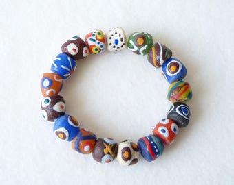 African Bracelet, Ethnic Bracelet, Boho Chic, Surfer Bracelet, Mens Beaded Bracelet, Womens Bracelet, Bohemian Gypsy Hippie, Fathers Day
