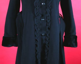 Black Coat Made by Rothschild