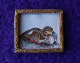 One Duckling Miniature