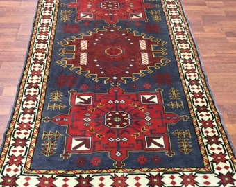Antique Turkish Decorative rug-F7