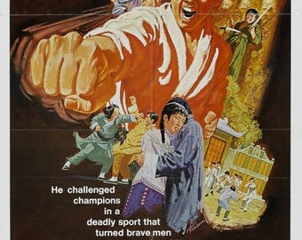 Summer Sale King Boxer Movie POSTER (1972) Drama/Action