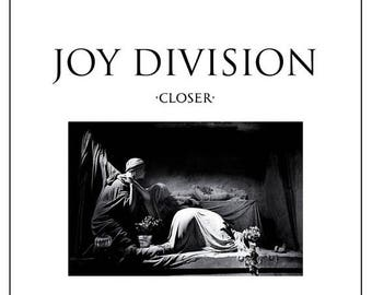 "ON SALE NOW: Joy Division ""Closer"" Album Art 12x12"