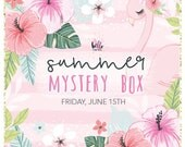 Summer Mystery Kit - Limited edition stickers and stationery set
