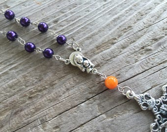 LSU car rosary