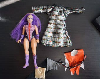 Vintage Galoob Golden Girl Action Doll She-Ra MOTU Loose Moth Lady with Outfit
