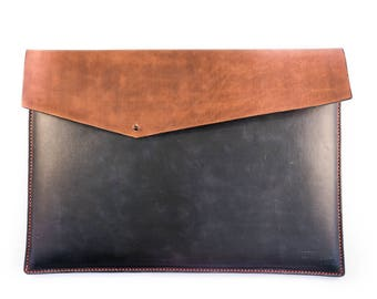 leather laptop sleeve for 13inch laptop, leather laptop case, macbook pro case, macbook case, leather macbook pouch macbook sleeve