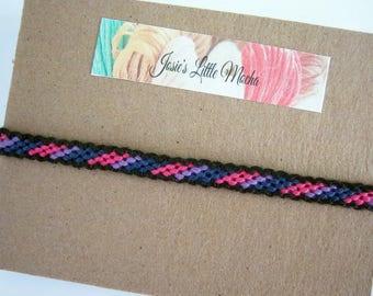 Bisexual Pride Bracelet / Bipride Bracelet / Gay Pride Bracelet / LGBT Bracelet / Bisexual Bracelet / Pride Bracelet / LGBT Jewelry