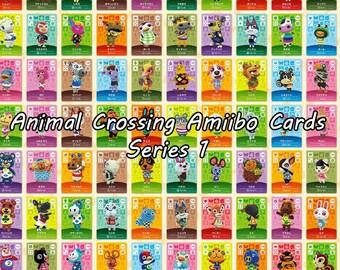 Animal Crossing Amiibo Cards Series 1
