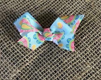 Paisley Mini Bow