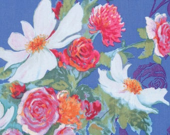 1/2 yd Rosealea by Nel Whatmore for Free Spirit Fabrics  PWNW076.LILAC