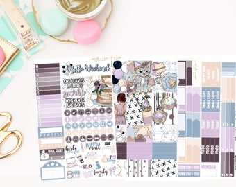 Celebrate Deluxe Kit, planner stickers