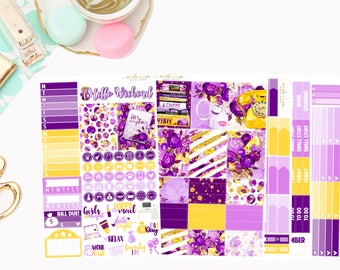 Lets Make Plans Deluxe Kit, planner stickers