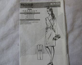 1Cahier sewing out dress size 36 to 48