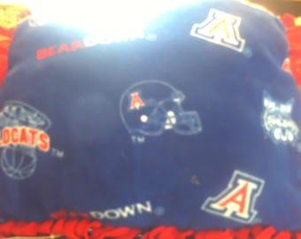 Arizona Wildcats fleece pillow